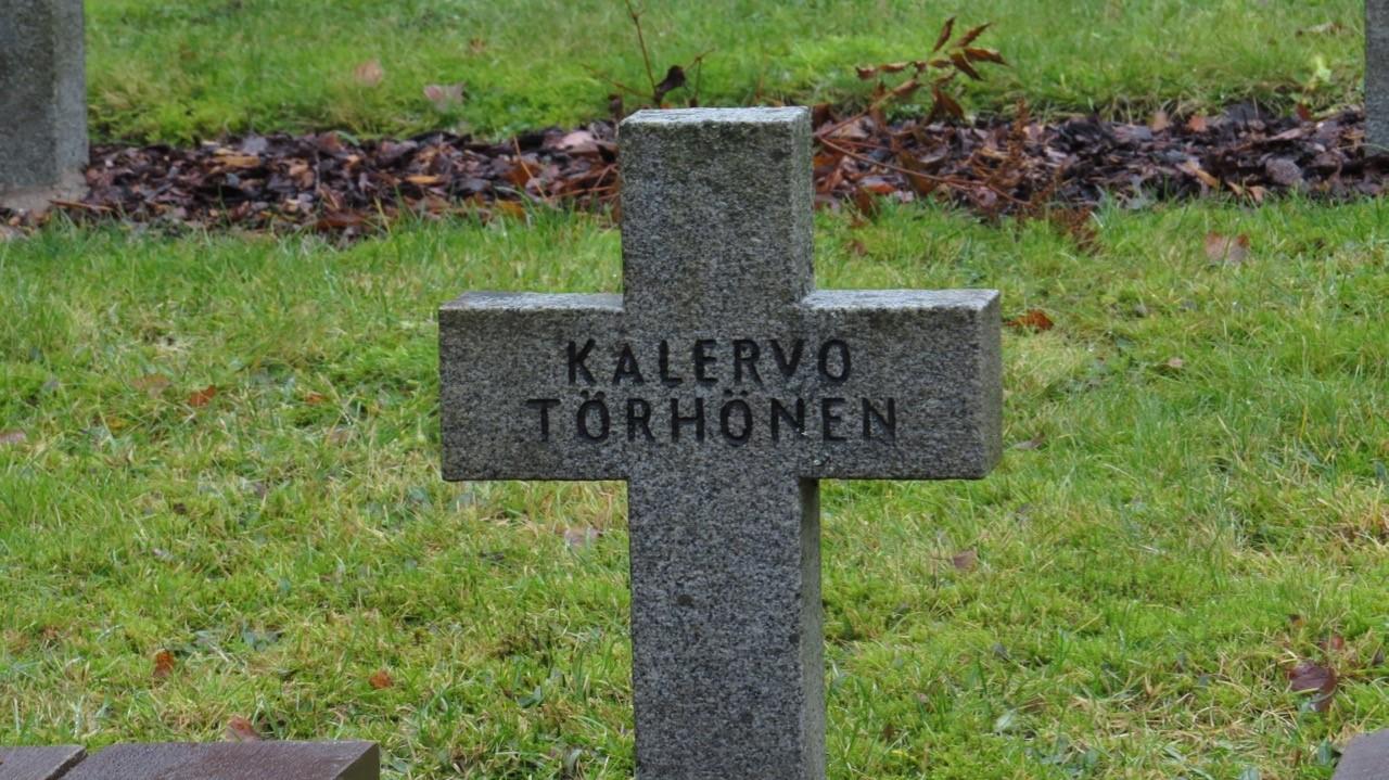 Sankarivainaja, sotamies Kalervo Valdemar Törhösen siunaustilaisuus 6.12.2019